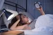 Junge Frau mit Schlafproblemen - 78663232