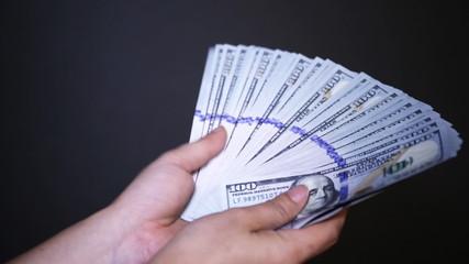 Close up of Money Shuffle