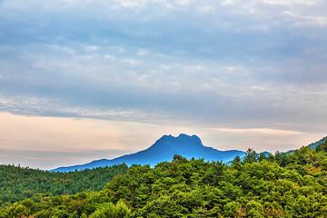 Mountains landscape in Korea