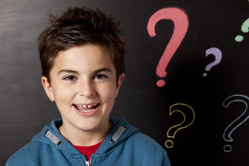 child and question mark