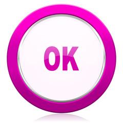 ok violet icon