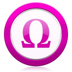 omega violet icon