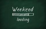 Fototapety Loading weekend