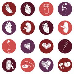 Medicine. Heart doctor Illustration icon. Vector
