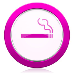 cigarette violet icon nicotine sign
