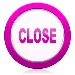 close violet icon