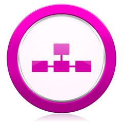 database violet icon