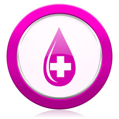blood violet icon