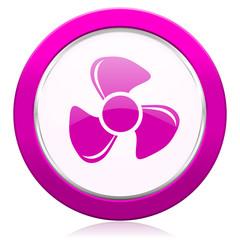 fan violet icon