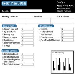 Healthcare Plan Detail Form