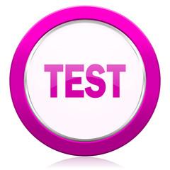 test violet icon