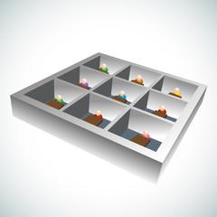 3d Office Cubicles