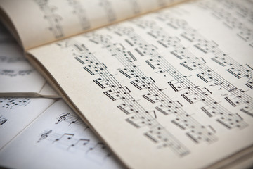 The concept of musical notes