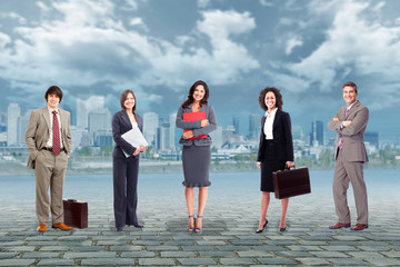 Business people team.