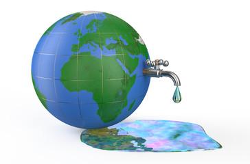 Environment pollution concept