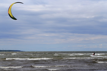Kitesurfing and Baltic sea