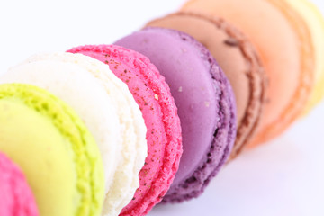 Colored macaron