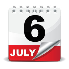 6 JULY ICON
