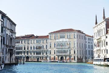 Canal Grande e palazzi, Venezia