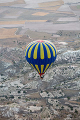 Cappadocia, Turkey. the flight with the balloon