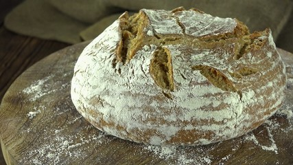 Fresh baked Bread (seamless loopable)