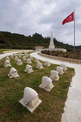 Gerzek Sehitlik WWI Ottoman Military cemetery in Gallipoli