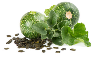 Pumpkin Seeds and plant