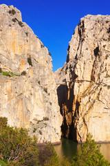 View of  Camino del Rey