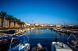 Leinwanddruck Bild - Split city centre view