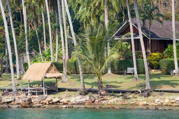 Tropical beautiful beach on the island Koh Kood, Thailand