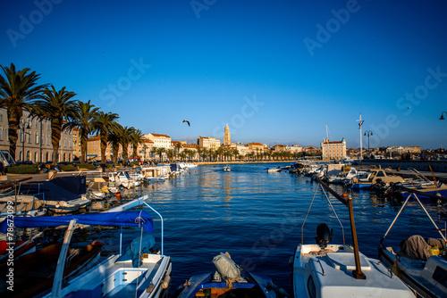 Split city centre view - 78673099