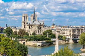 Seine and Notre Dame de Paris