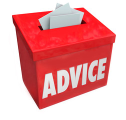 Advice Word Suggestion Box Consulting Idea Feedback Input