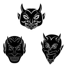 Devil Head Tattoo Collecction