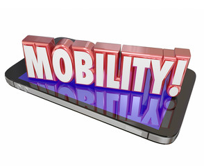 Mobility 3d Word Cell Mobile Phone New Technology Portable On th