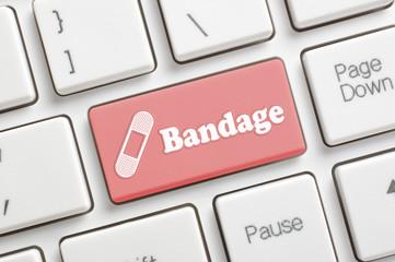 Bandage key on keyboard