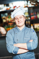 cook chef at restaurant