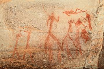 Bushmen rock painting, Drakensberg mountains