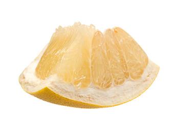 Pomelo citrus fruit slice
