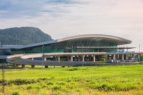 Fotobehang Treinstation Airport building
