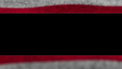 USA Flag, Door, with Alpha Channel, Loop