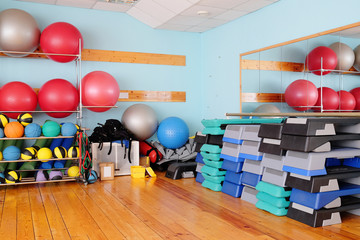 Interior exercise room