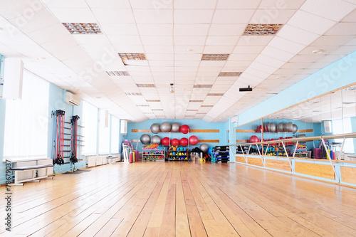 The interior of the dance studio - 78679037