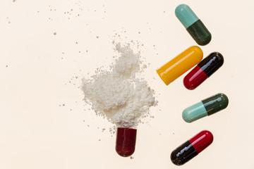 capsule : drug