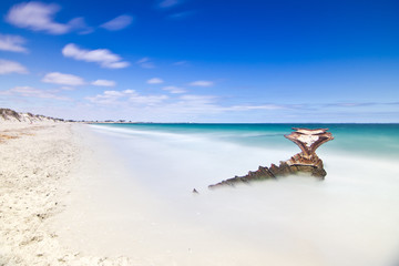 Shipwreck at CY O'Connor Beach, Perth, Western Australia