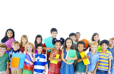 Childhood Children Happiness Innocence Friendship Concept