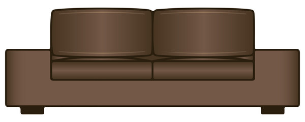 Sofa for two seats