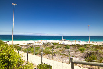 City Beach in Perth, Western Australia
