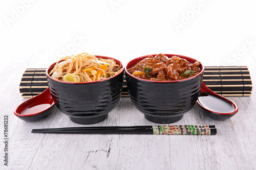 canvas print picture chinese food