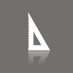 Icono cartabón FO reflejo